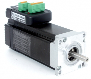 Integrated 100W Closed Loop Servo Motor 24VDC JMC iHSV57-30-10-36