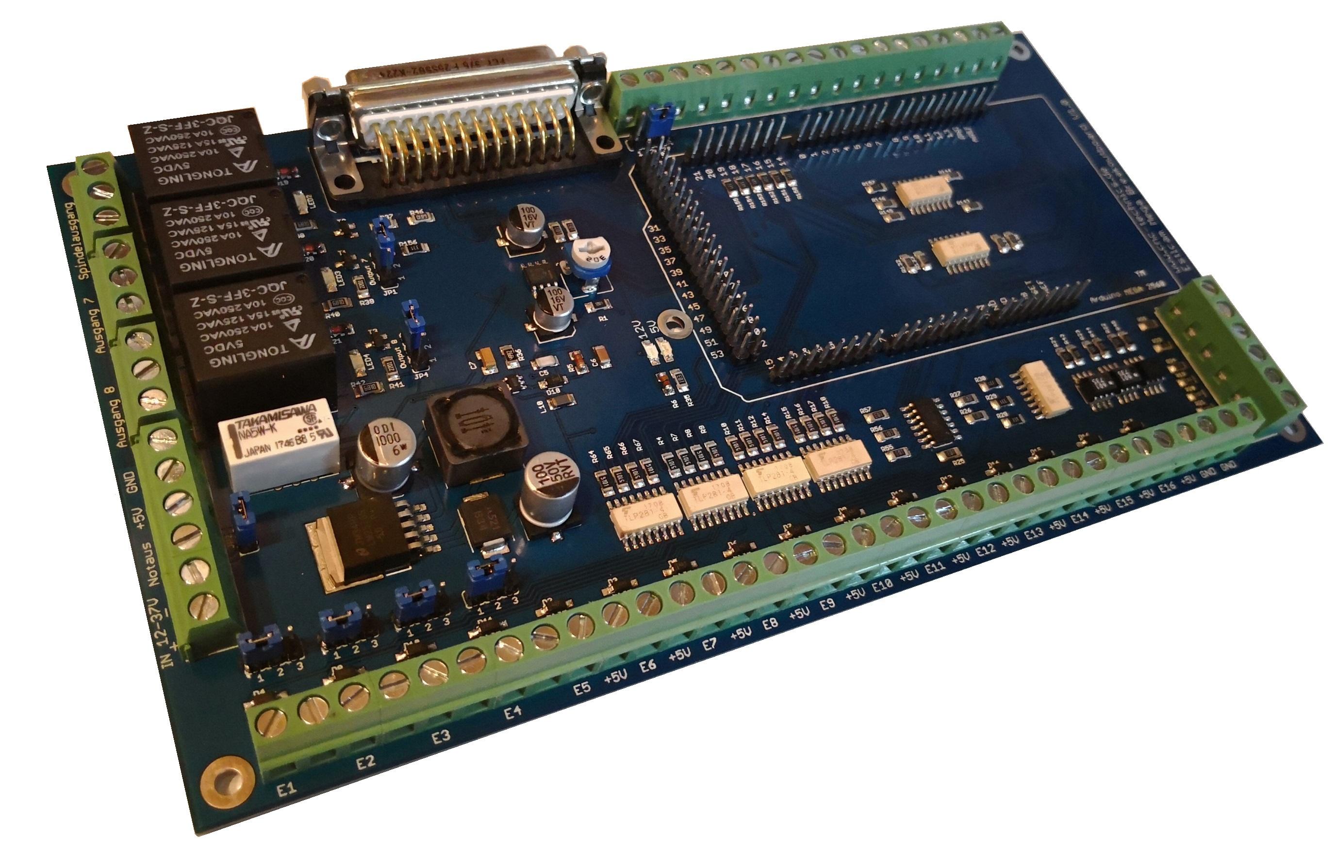 Estlcam Breakoutboard Mega for CNC Programm Estlcam