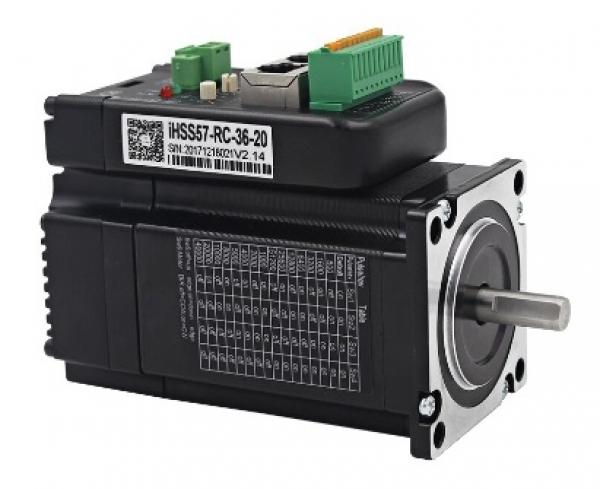 IHSS57-36-20-RC 2phase Nema23 Hybrid 2Nm Closed Loop Schrittmotor ModBus RS485 CAN Bus - CANopen Protokoll